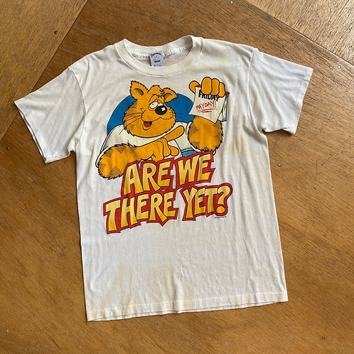 """Vintage """"Are we there yet?"""" Tee"""