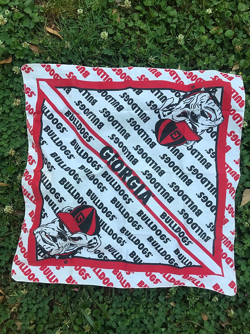 WOW Georgia Bulldog bandanna