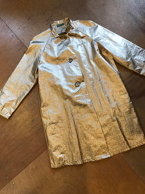 Vintage poly raincoat