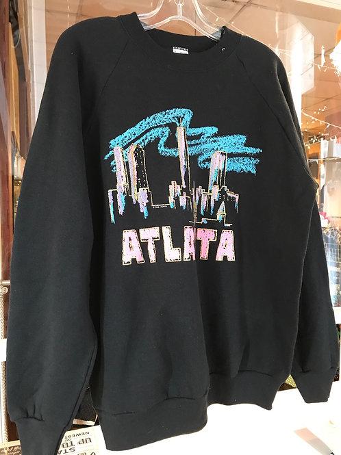 1990s black Atlanta sweatshirt