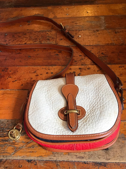 Vintage colorblock Dooney purse