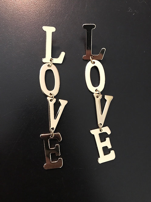 LOVE is all you need earrings