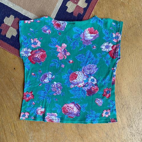 Vintage soft floral top