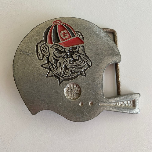 Vintage Bulldogs belt buckle