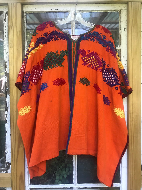 tunic top hand embroidered