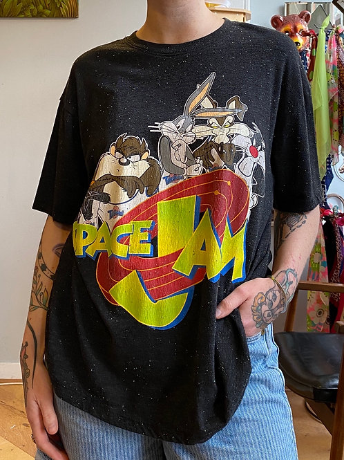 recycled Space Jam tee