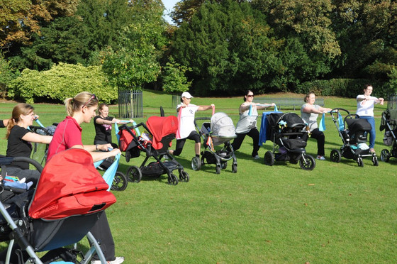 Exercising With Your Pushchair & Baby
