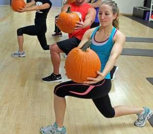 Get Healthy This Halloween With Our Pumpkin Workout