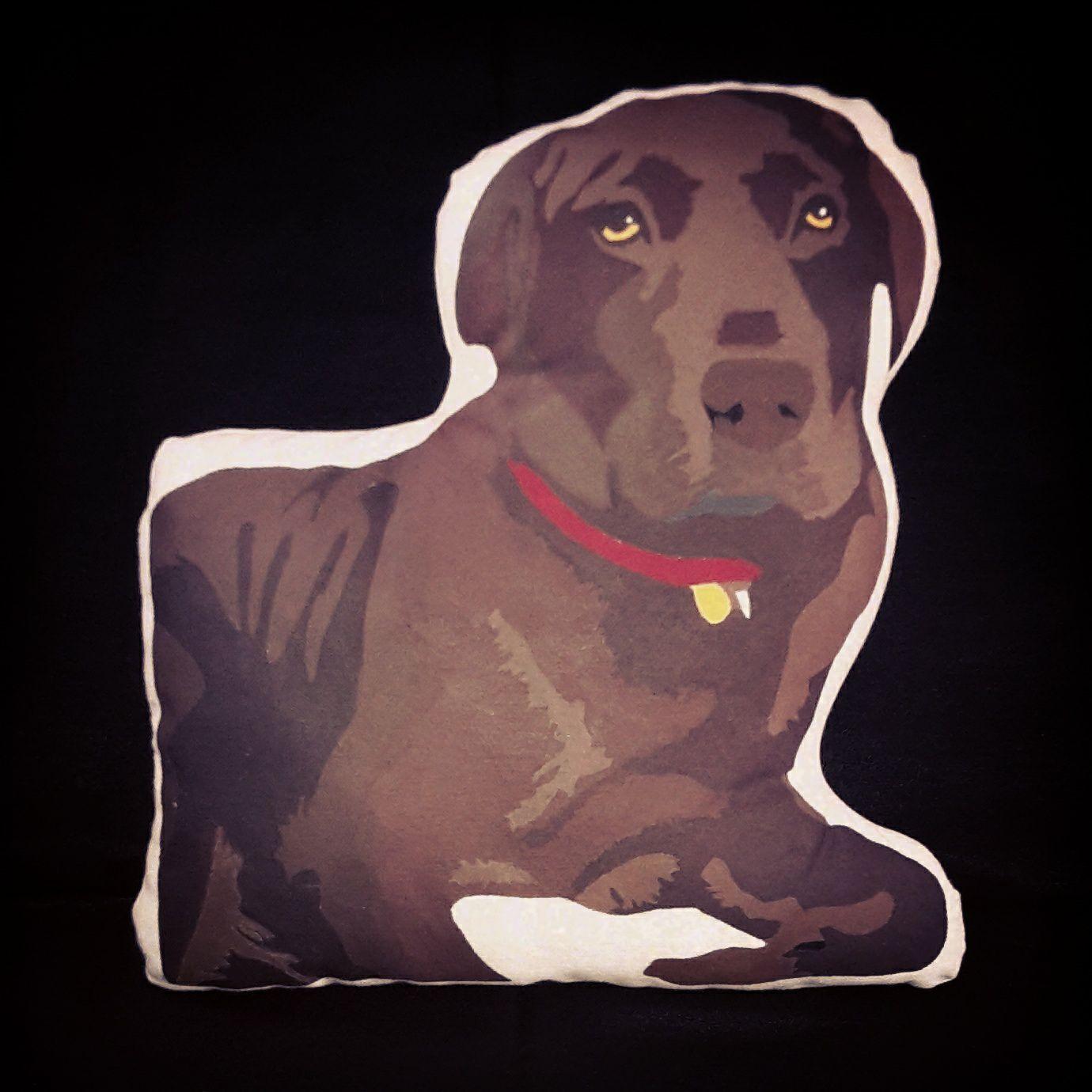 Cojín retrato mascota