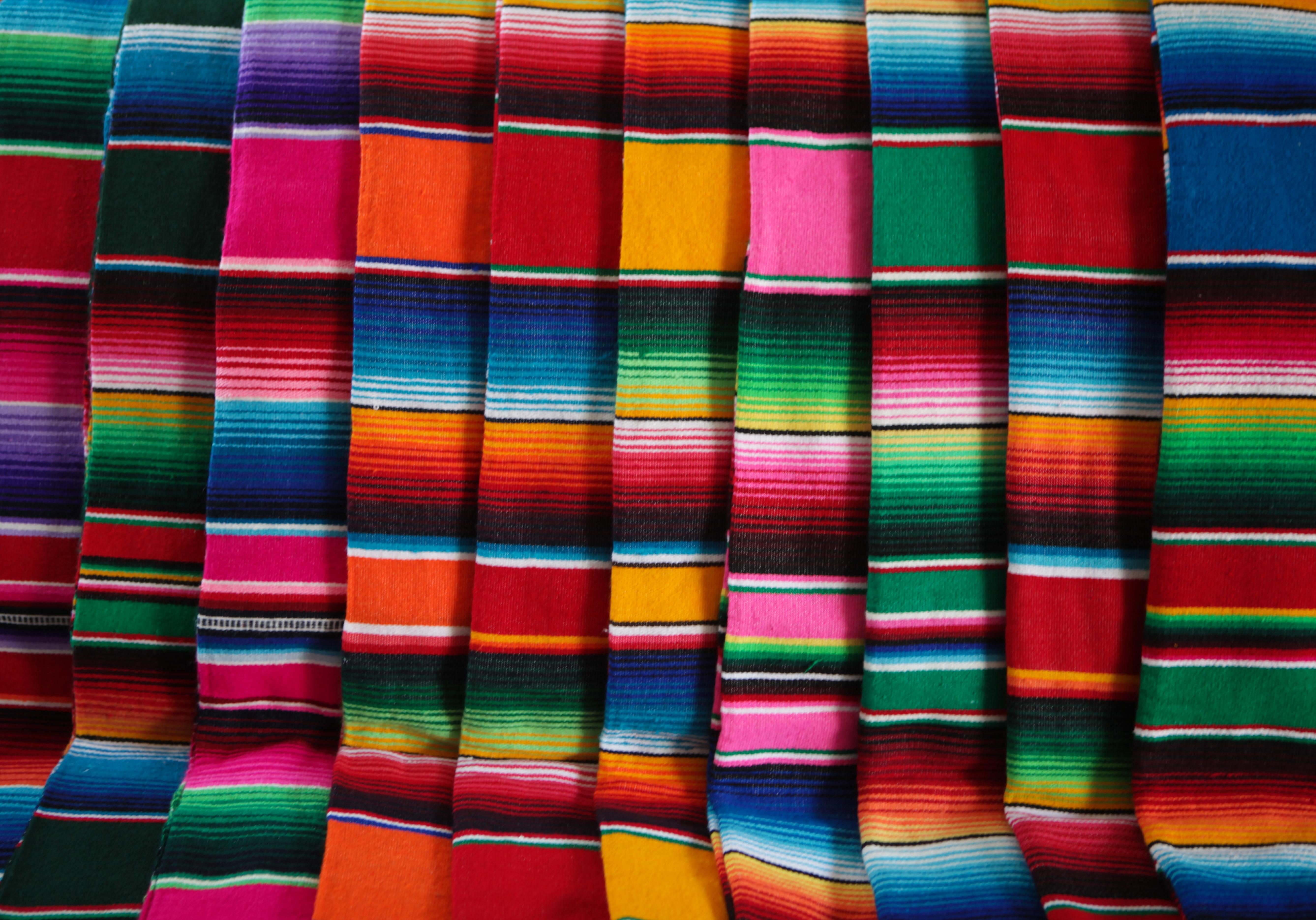Sarapes mexicanos