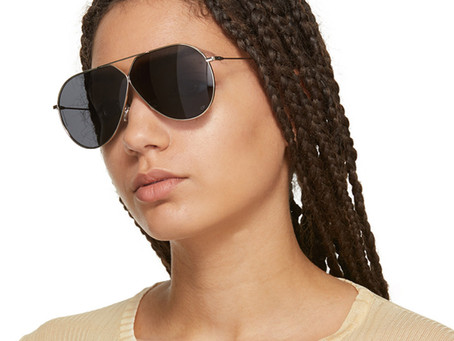Christian Dior Stellaire 3 Aviator Sunglasses