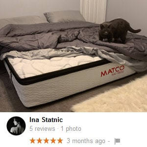 Review at Matco Mattress