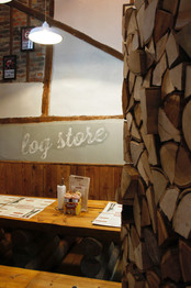 High Wycombe Log Store (8-12 ppl)