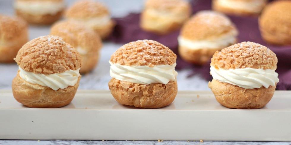[Workshop] Học làm bánh Choux à la crème