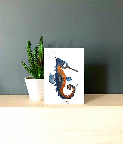 Neville seahorse card