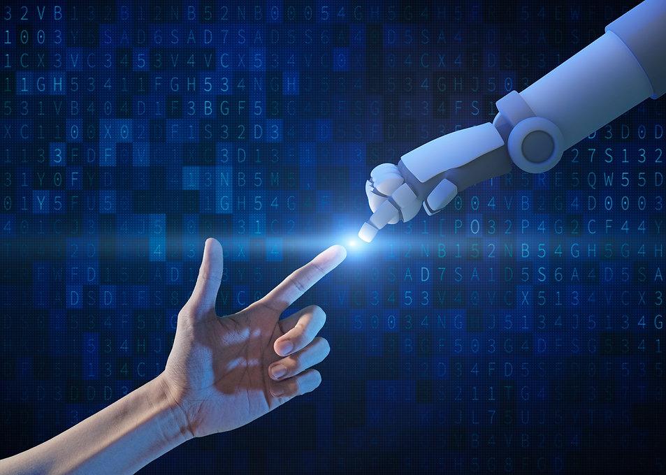 human-hand-and-robot-hand-with-binary-nu