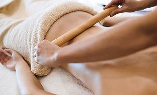 Hot Bamboo Massage tratment, by Well Being Massage Therapies, London