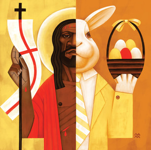 Two Faces: Easter