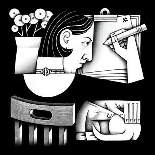 Portrait of the Illustrator