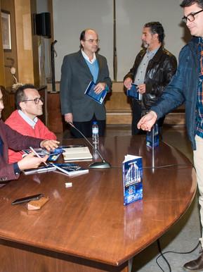 """Lançamento do livro """"O Escritor que queria escrever o seu primeiro livro"""" em Coimbra."""