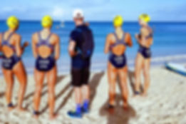 USA Triathlon Athletes with Elite Coach, Jarrod Evans