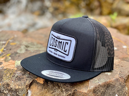 COSMIC CLASSIC BLACK PATCH HAT
