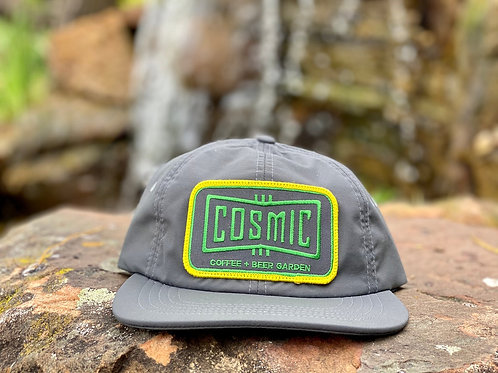 COSMIC CHARCOAL PATCH HAT