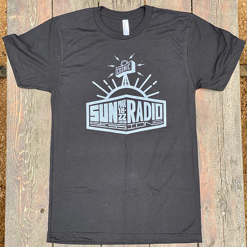 COSMIC BLACK/SILVER SUN RADIO SESSIONS CANCELLED EVENT TEE