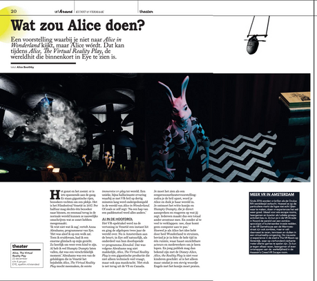 Alice in VR Land Uitkrant Winternummer 2