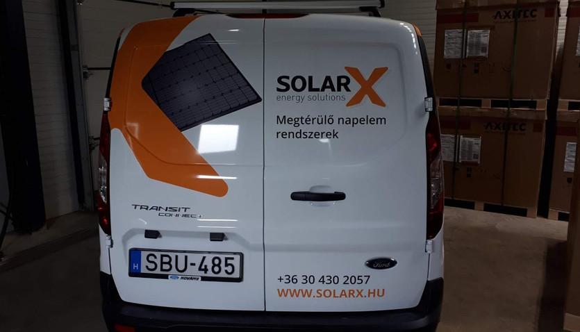 Solar X autódekoráció