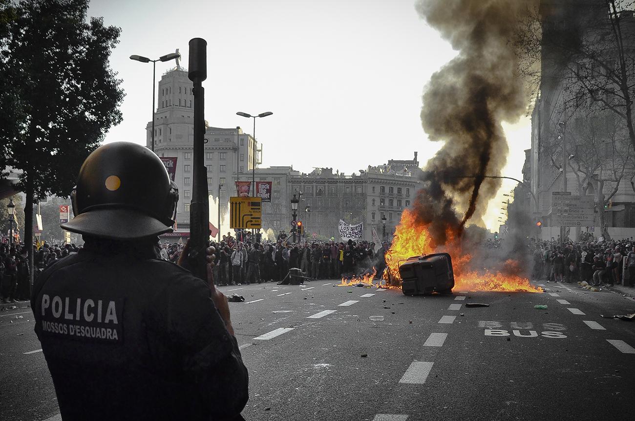 Huelga general 29M de 2013 en Barcelona08