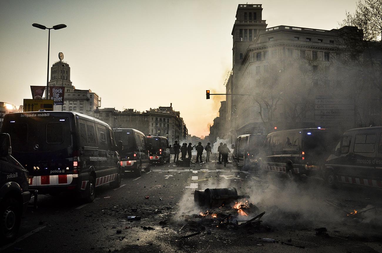 Huelga general 29M de 2013 en Barcelona19