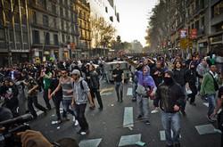 Huelga general 29M de 2013 en Barcelona10