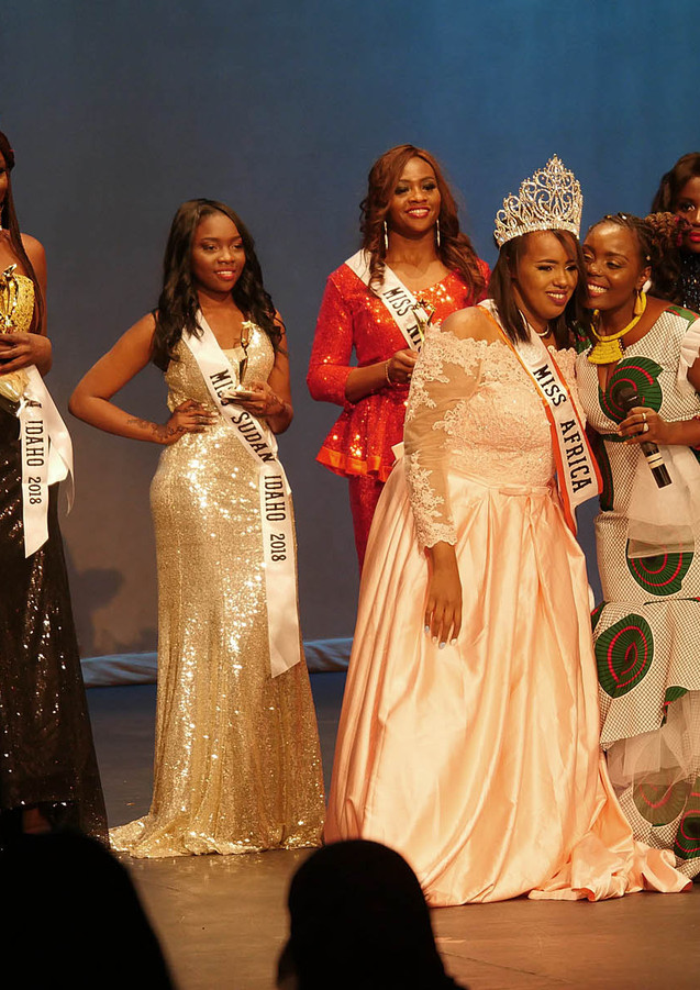 Miss Africa Idaho 2018