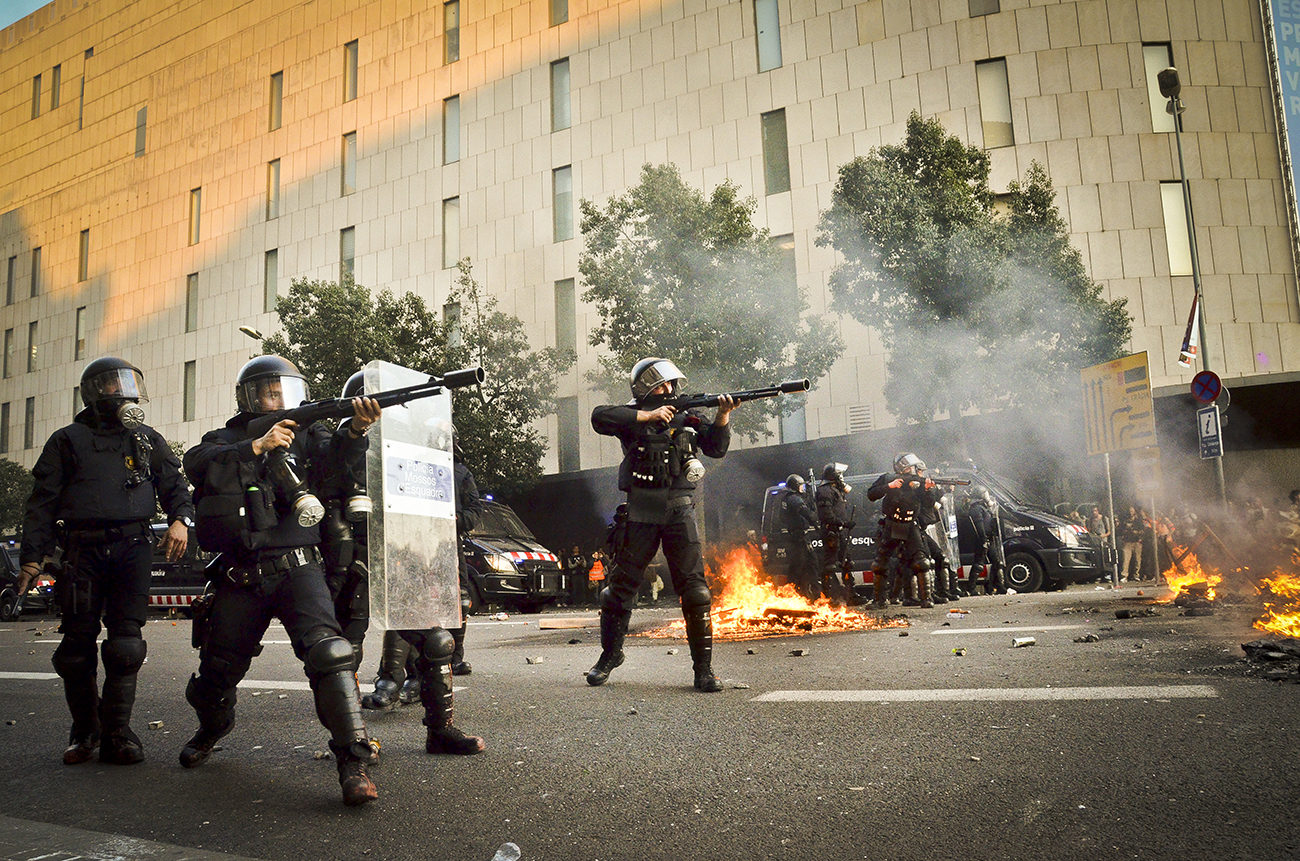 Huelga general 29M de 2013 en Barcelona14