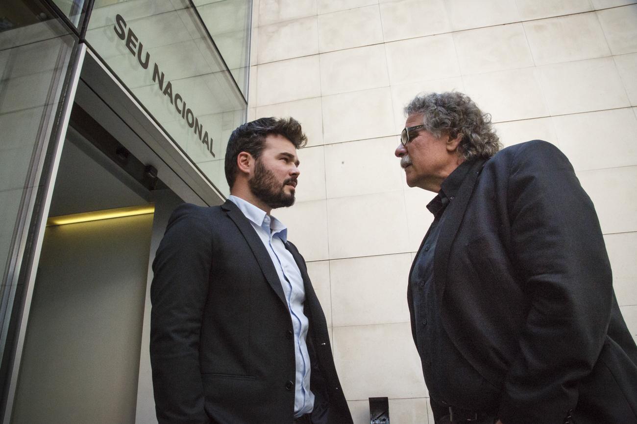 Gabriel Rufián + Joan Tardà