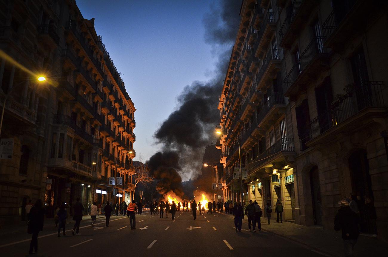Huelga general 29M de 2013 en Barcelona17