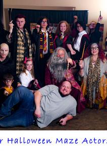 Halloween Maze Actors