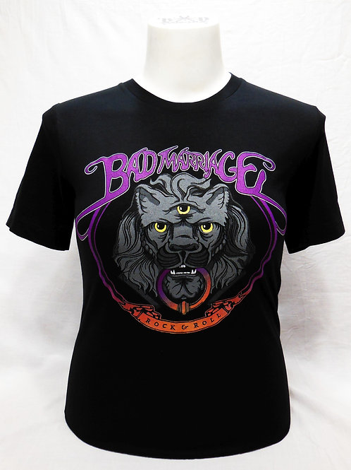 """BAD MARRIAGE """"KNOCK 3 MORE TIMES"""" T-SHIRT"""