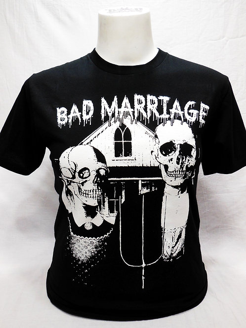 """BAD MARRIAGE """"GOTHIC"""" T-SHIRT"""
