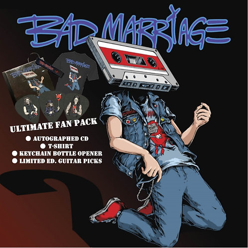 BAD MARRIAGE 2-CD ULTIMATE FAN PACK