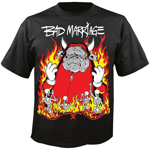 "BAD MARRIAGE ""ALL HAIL LUDWICK"" 2020 TOUR T-SHIRT"