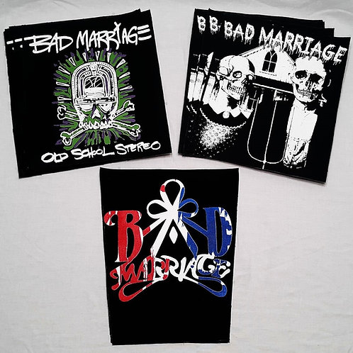 BAD MARRIAGE BACK PATCHES