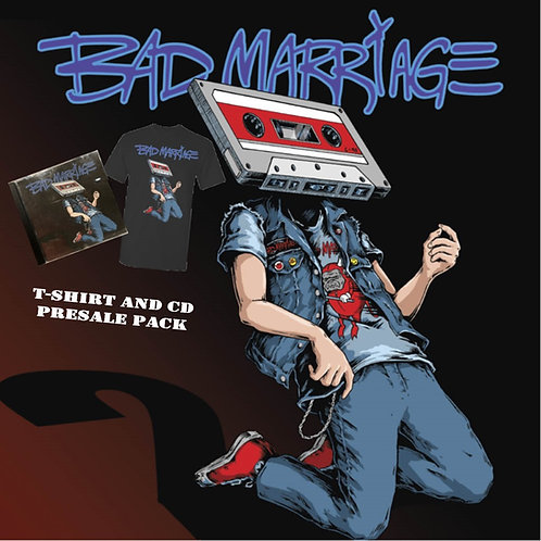 NEW CD / T-SHIRT PACKAGE PRE-ORDER