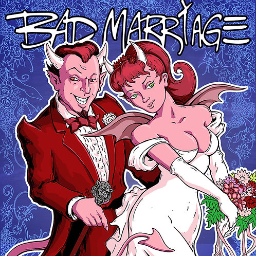 BAD MARRIAGE - SPECIAL EDITION SIGNED VINYL - ELECTRIC EMERALD GREEN
