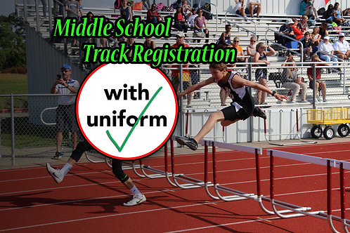 MIDDLE SCHOOL Track Reg WITH Uniform