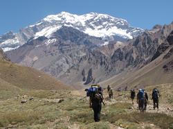 Trekking a Confluencia en Aconcagua $14000
