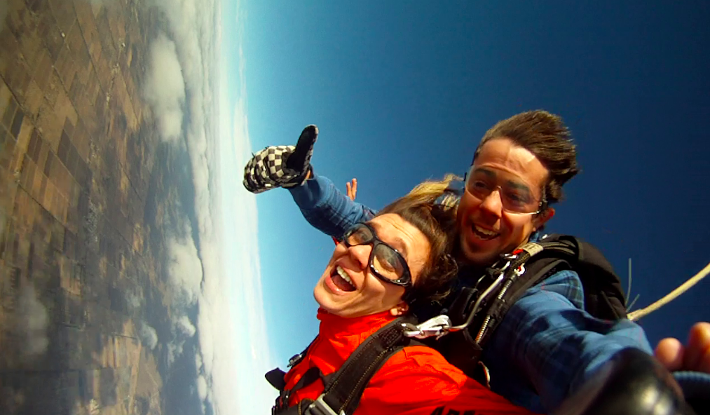 Skydiving in Mendoza!