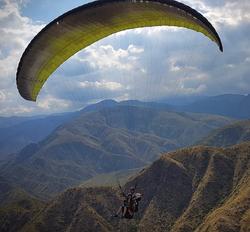 Paramente en los Andes