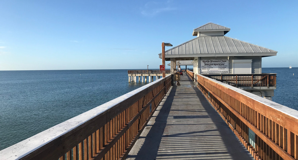 Times Square Pier at Fort Myers Beach